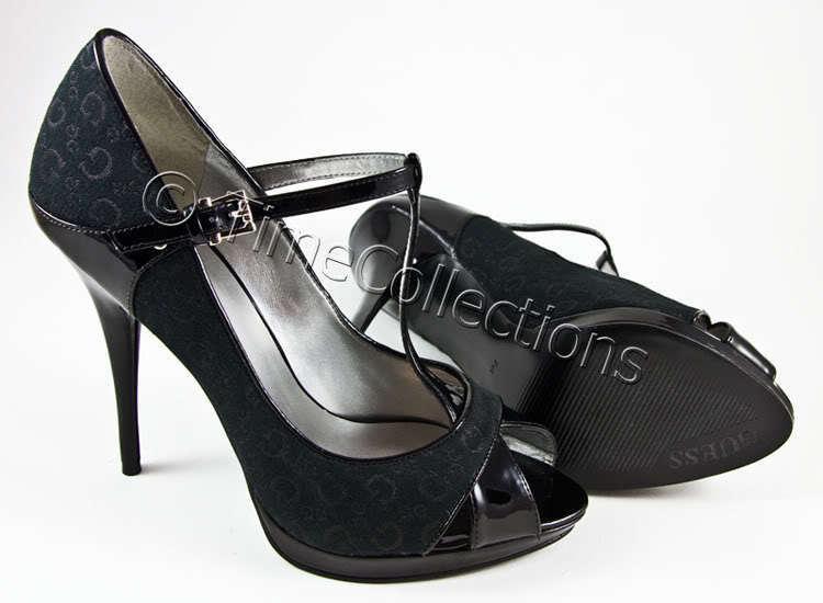 migliore marca NEW GUESS MARCIANO G LOGO PATENT PATENT PATENT nero LEATHER scarpe  sport caldi