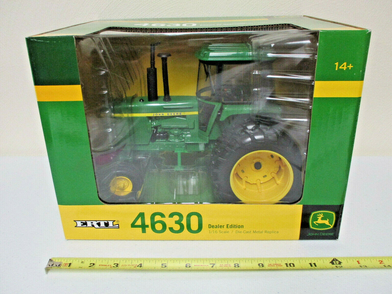 John Deere 4630 With Duals Dealer Edition by Ertl 1 16th Scale