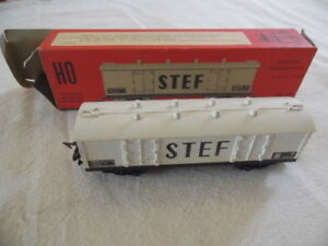 JOUEF-HO-Wagon-couvert-frigorifique-a-bogies-SNCF-STEF-ref-6560-1959