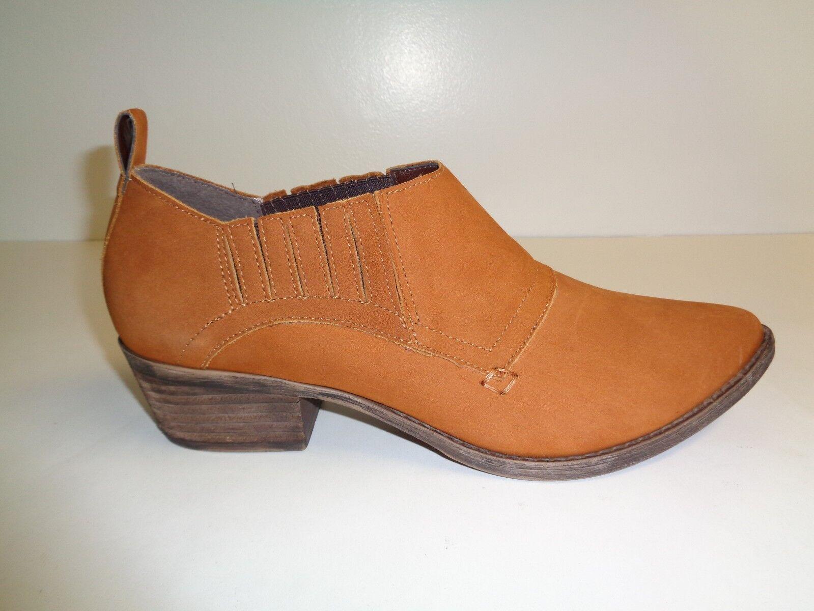 Steve Madden Größe 8 M AUCKLAND Cognac Braun Chelsea Stiefel NEU Damenschuhe Schuhes