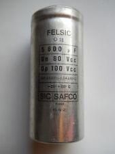 1 x 5600uF @ 80/100Vcc SIC-SAFCO FELSIC CO 18