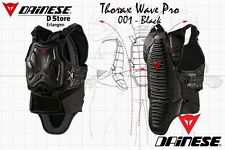 NEW DAINESE THORAX WAVE PRO SAFETY CHEST BLACK SIZE S