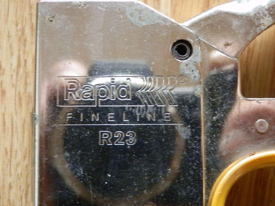 Klammepistol, Rapid R23