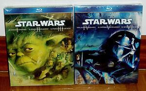 Star-Wars-I-Ii-Iii-Iv-V-Vi-New-Sealed-6-Blu-Ray-Fantastic-Sleeveless-Open-A-B