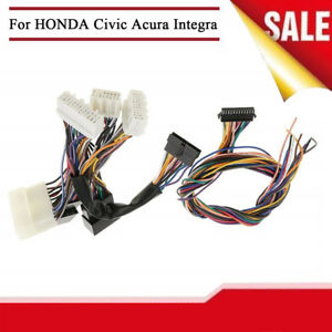 OBD To OBD ECU Jumper Conversion Wiring Harness For HONDA Civic - Acura integra wiring harness
