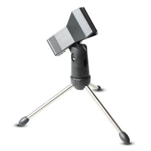 Adjustable-Tripod-Desktop-Table-Mic-Microphone-Clamp-Clip-Holder-Stand