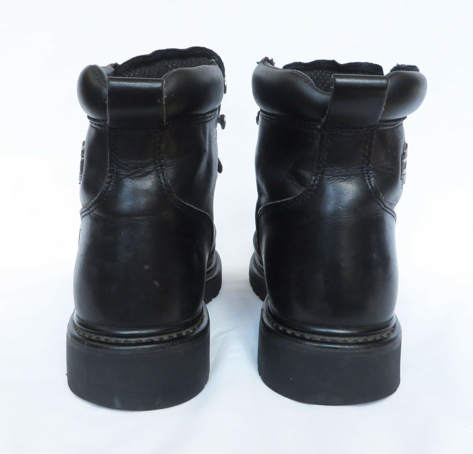 HARLEY DAVIDSON MOTORCYCLE Womens Leather Ankle Dipstick Biker Boots 9.5 9.5 9.5 41 7.5 494ef1