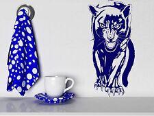 Wall Sticker Vinyl Decal Panther Roar Jungle Hunter Big Cat Animal Decor (m313)