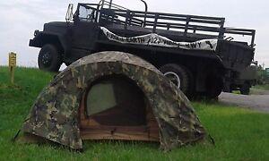 Image is loading USMC-Eureka-2-Man-Combat-Tent-with-Woodland- & USMC Eureka 2 Man Combat Tent with Woodland Camo Gortex Rain Fly ...