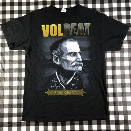 Volbeat Black Bart Outlaw Cowboy Rock Band 2013 T