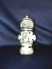 BestPysanky Astronaut in Open Space Blown Glass Christmas Ornament 5 Inches