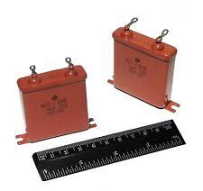 2 Pcs 4uf 300v 10 Mbgo 2 Pio Capacitors Audio Ussr Nos