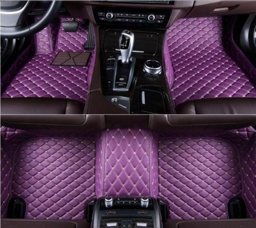 For Honda Accord 2 Door 4 Door Car Floor Mats Custom Luxury FloorLiner Auto Mats