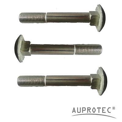 8.8 Stahl galv DIN 603 Schloßschrauben Flachrundschrauben Güte verzinkt  M 6