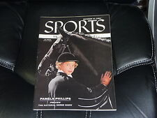 1955 NATIONAL HORSE SHOW PREVIEW PAMELA PHILLIPS NO LABEL SPORTS ILLUSTRATED MNT