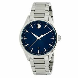 Movado 0607244 Men's Stratus Blue Quartz Watch
