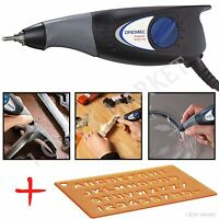 Electric Engraving Machine Metal Plastic Wood Engraver Glass Carve Hand Tool Kit