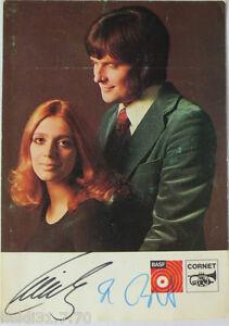 AK-Cindy-amp-Bert-BASF-Cornet-Records-mit-Unterschriften-Autogramm-2551