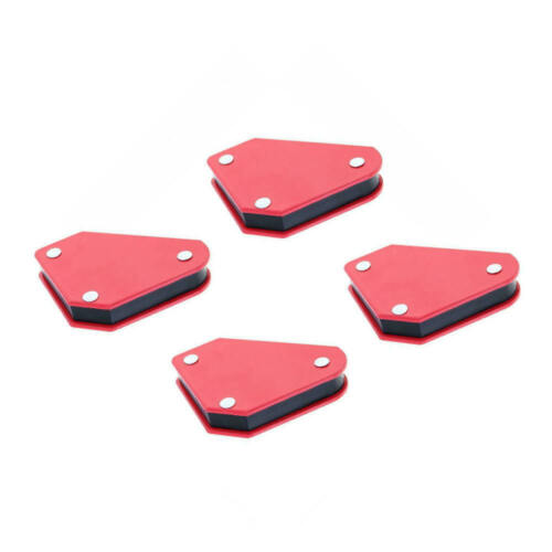 4 Pcs//set 9LB Triangle Magnetic Welding Positioner Fixed Angle 45° 90° 135° New