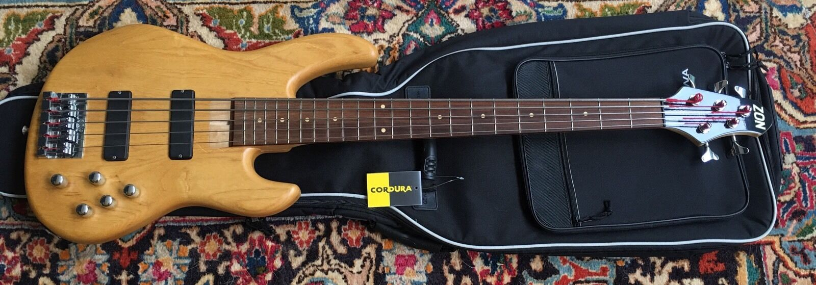 Zon Mosaic Pro 5 String Bass