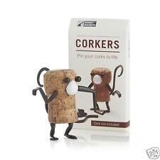 Corkers Animal Monkey Fun DIY Wine Bottle Cork Puzzle Gift Monkey Business