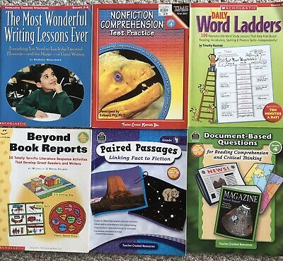 Scholastic Books,Teaching Writing, Reading Comprehension, Book Reports,  Vocab EBay