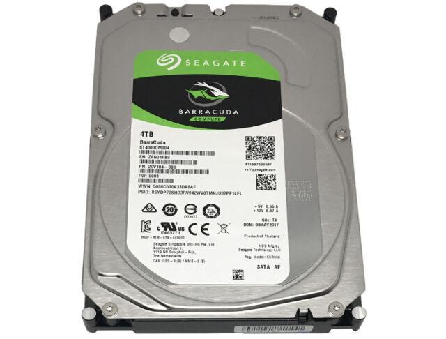 "Seagate ST4000DM004 4TB 5900RPM 256MB Cache SATA 6Gb/s 3.5"" Internal Hard Drive"