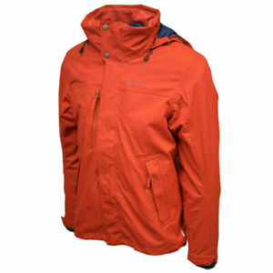 Your-Mountain-By-Quechua-Lightweight-Red-Shell-Jacket