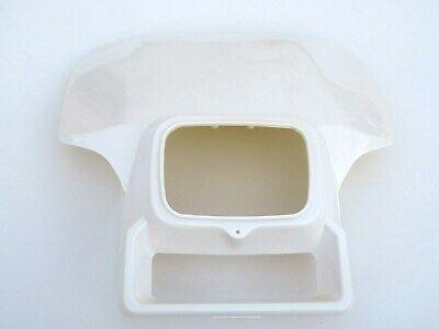 rubber bands Honda XR 200 250 350 500 600 White Headlight Cover shroud