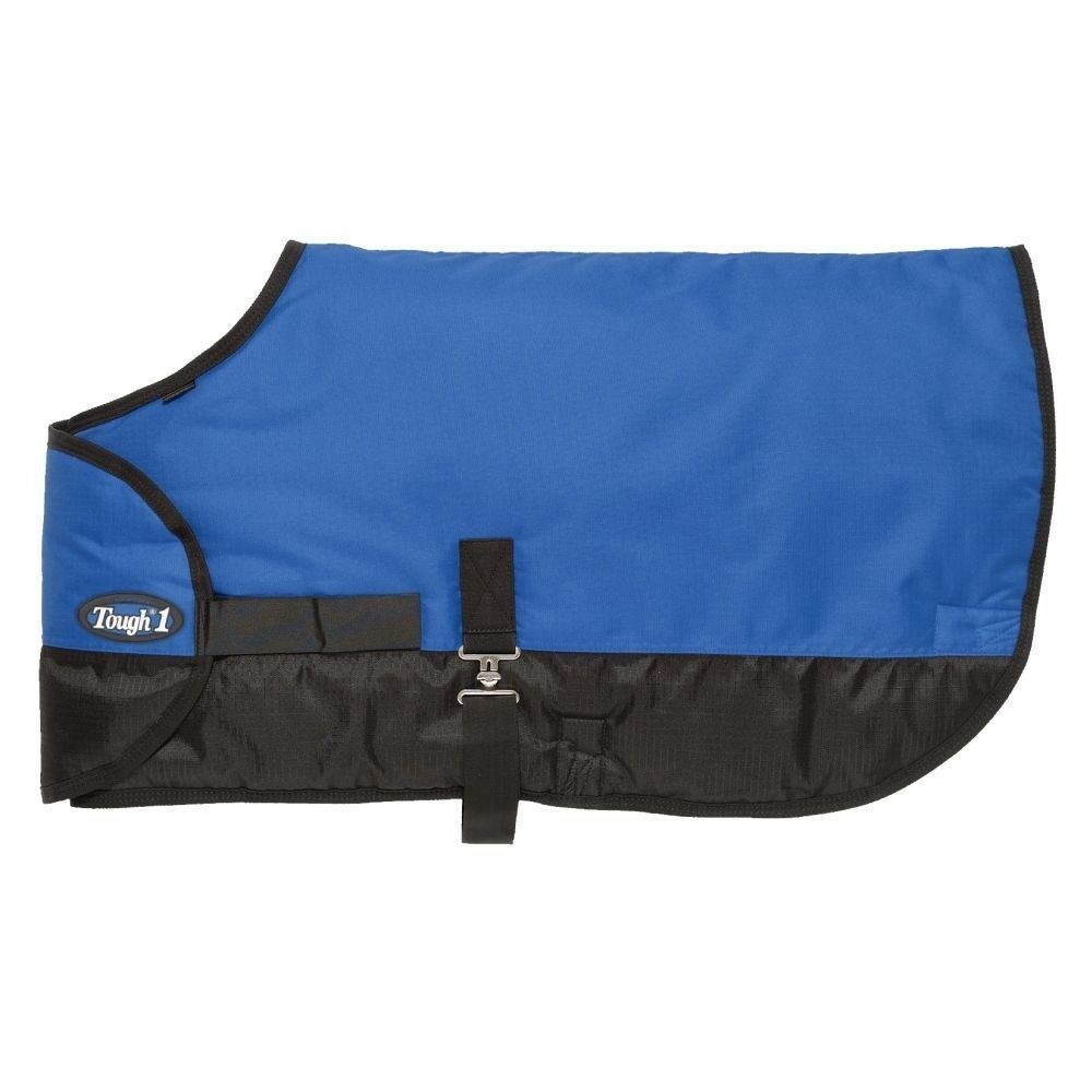 Tough-1 600D Waterproof 250g Fill Poly Adjustable Foal Blanket with Ripstop