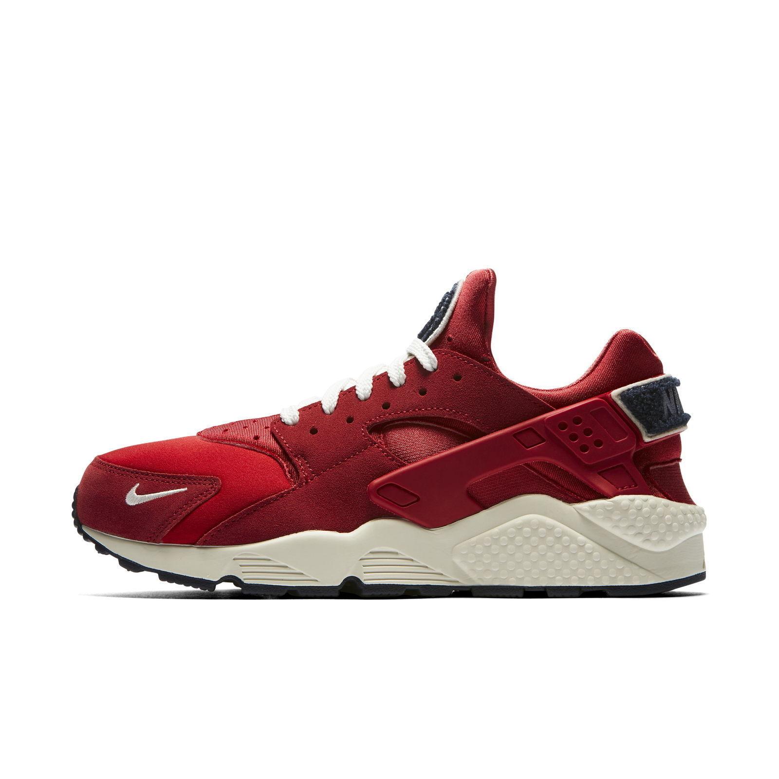 New Run Nike Men's Air Huarache Run New Premium Shoes (704830-602)  University Red 3f6879