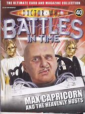 DOCTOR WHO BATTLES IN TIME MAGAZINE NO 40 MAX CAPRICORN AND THE HEAVENLY HOSTS