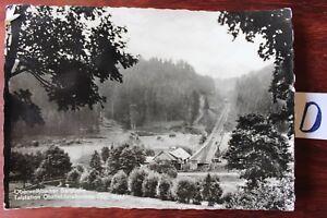 Trempé Carte Postale Vue Carte Thuringe Oberweißenbacher Bergbahn-er Bergbahn Fr-fr Afficher Le Titre D'origine Beau Lustre