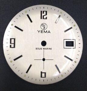 Cadran-Dial-YEMA-Sous-Marine-Pour-Calibre-Fe-Cup-233-Diametre-30mm-Neuf-NOS
