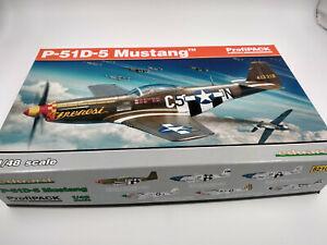 Maquette-a-monter-Avion-Mustang-P-51-echelle-1-48-Eduard-Profipack-edition