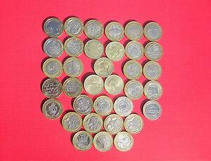 Large Sélection De Diffusé £ 2 (deux Livres) Pièces-great British Coin Chasse-afficher Le Titre D'origine Ffe8lrdh-07224915-195314026