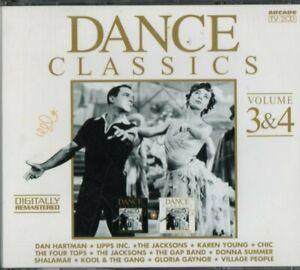2-CD-Dance-Classics-Volume-3-amp-4-REMASTERED-Chic-Gloria-Gaynor-Donna-Summer