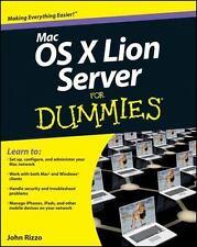 Mac OS X Lion Server For Dummies (For Dummies (ComputerTech))