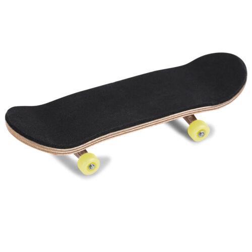 Komplett Holz Fingerboard SET Handmade Wood Finger Skateboard Fingerskateboard