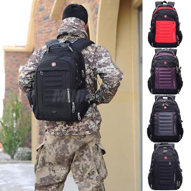 Men Women Laptop Backpack Computer Notebook Outdoor School Travel Bag Swiss Gear