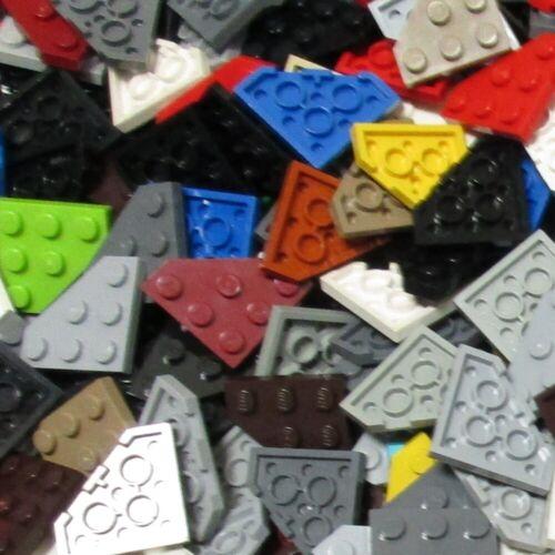 Modified Plates Used LEGO® 2450 500g-Packs Platte 3 x 3 Ecke