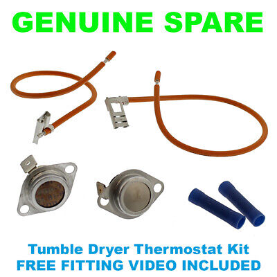 HOTPOINT CREDA TUMBLE DRYER THERMOSTAT TOC KIT C00209193 GENUINE PART