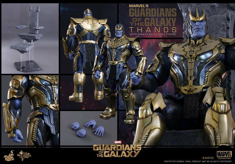 HOT TOYS 1 6 MARVEL GUARDIANS OF THE GALAXY MMS280 THANOS MASTERPIECE FIGURE