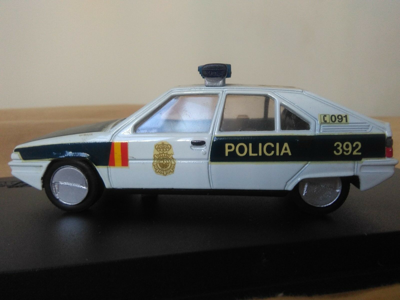 Vous êtes en bonne santé pour la nouvelle année. année. année. Antigua miniatura 1:43 Scale Carr PR022 Citroën BX Policía Nacional. | Outlet Store  | Achats En Ligne  | Exquis (en) Exécution  ffe1ae