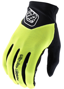 TROY LEE DESIGNS TLD MENS FLO YELLOW ACE MTB CYCLING GLOVES SOLID X LARGE XL