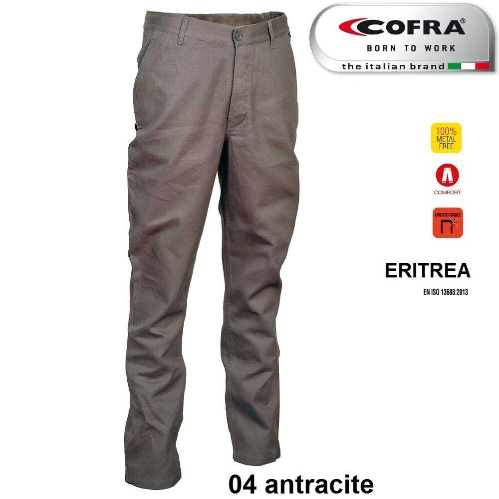 Immagine 5 - Pantaloni da lavoro COFRA modello ERITREA 100% cotone 270 g/m² industria logist