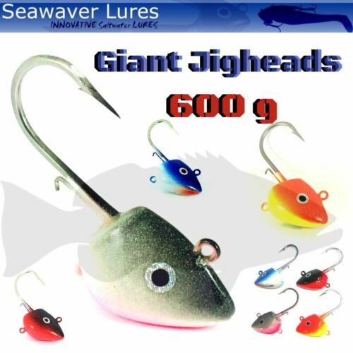 Seawaver Giant Jighead With Hook 600G