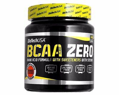 klasyczny duża zniżka niskie ceny BioTech USA BCAA Flash Zero 360 gram Powder Carb-Free 2:1:1 Glutamine 6  FLAVOURS   eBay