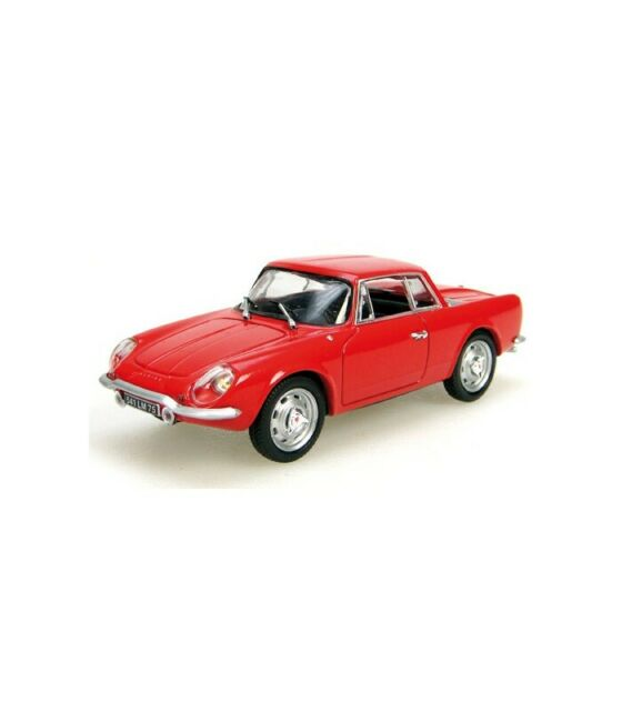 ALPINE A 108 COUPE 1961 RED 1:43