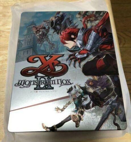 Ys IX Monstrum NOX Steelbook Case PS4 Geo Limited